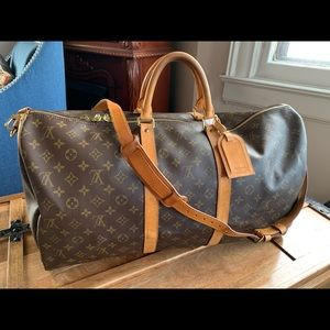 Louis Vuitton Bandouliere 55 Travel Bag